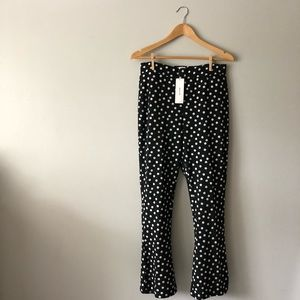 urban outfitters polka dot pants